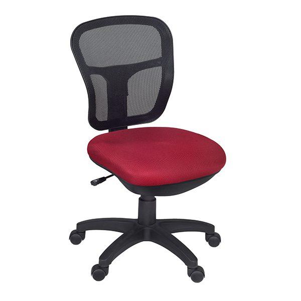Harrison Armless Swivel Chair U2013 Red
