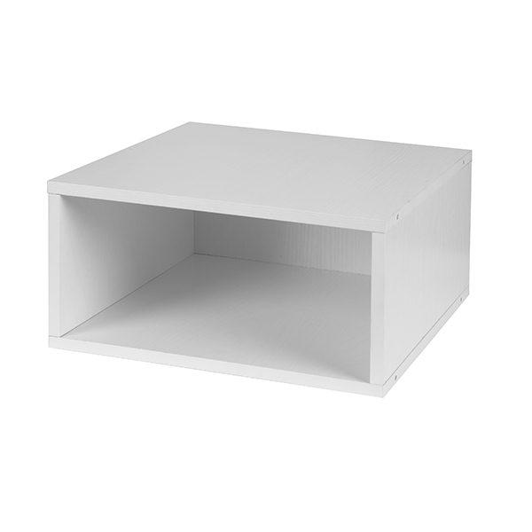 Cubo Half-Size Stackable Storage Cube u2013 White  sc 1 st  Niche & Cubo Half-Size Stackable Storage Cube - White | Niche