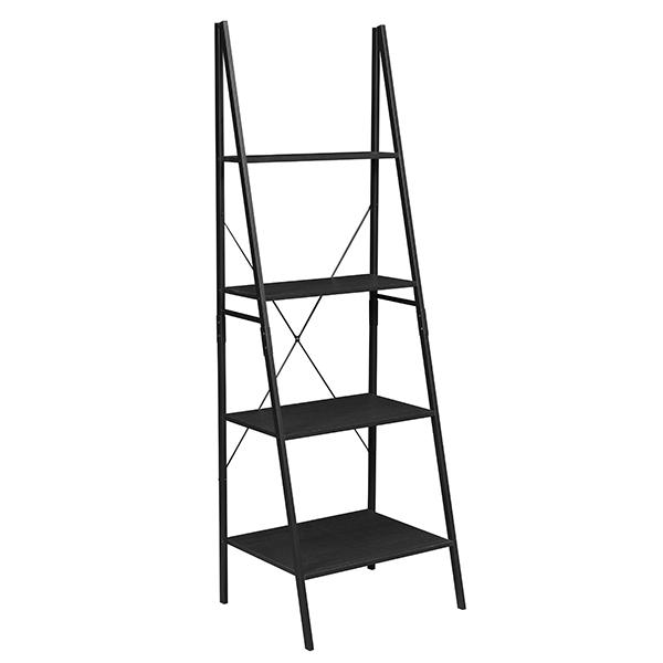 Niche Soho 72 Ladder Bookcase Ebony