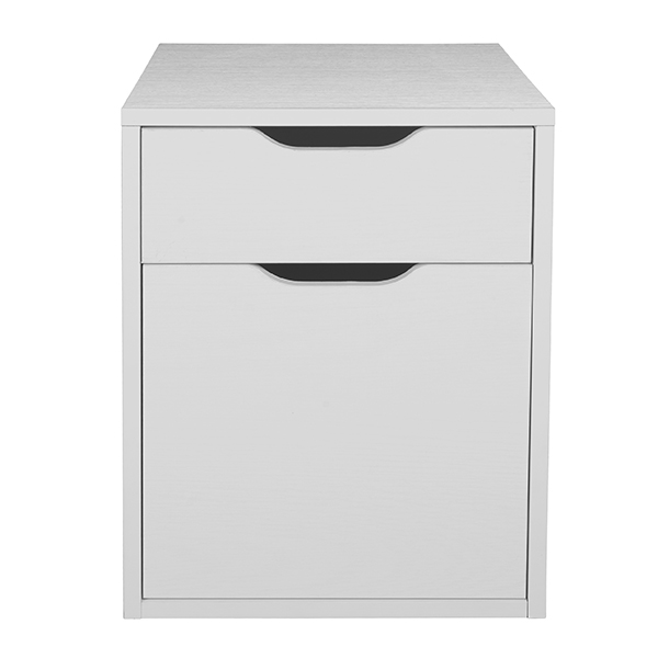 Niche Mod Freestanding Box-File Pedestal with No Cherry with No-Tools Assembly